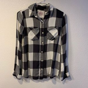 Gray & White Flannel Super Soft